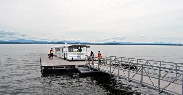 biking tour - burlington vermont - bike ferry