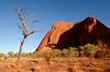 Sunrise at Uluru (Northern Territory, Australia)
