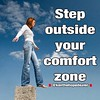 The calling God has on your life is on the other side of your comfort zone. It's in a place where you will feel pressure, anxiety and fear. An unknown place where at times you will not know where the door is to get out.  View outside your comfort zone not by Ken The Hope Dealer