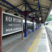 High Wycombe - restored station signs, June 2015 by mikeyashworth