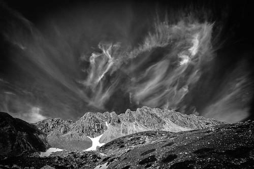 ... a caccia di nuvole (b/n - 02) ...