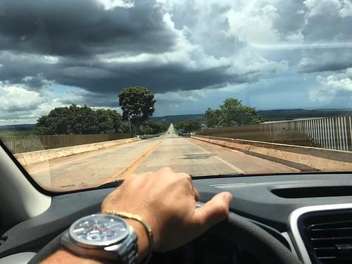 Resiliência! #Working #OnTheRoadAgain #Rain #BlackClouds #TO255 #Tocantins #PortoNacional #Palmas #Gurupi