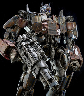 threeA《變形金剛4:絕跡重生》柯博文(隱匿模式) Transformers Age of Extinction Optimus Prime Evasion Edition