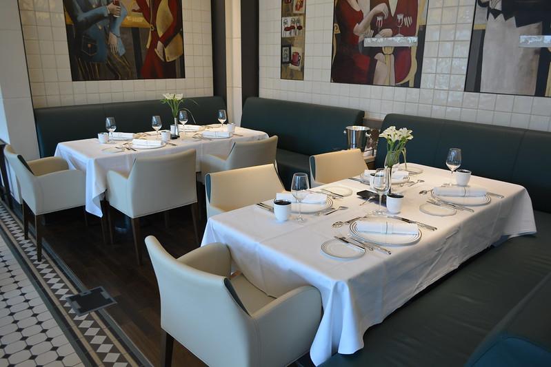 Restaurant Tarragon (Restaurant Français) - Visite du MS EUROPA 2 - Bordeaux - 20 mai 2013