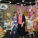 Michelle and me at her booth by linda beth