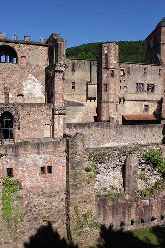 ruins of Heidelberg Castle