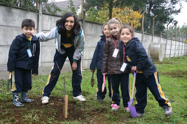 Colegio George Chaitor, Temuco.