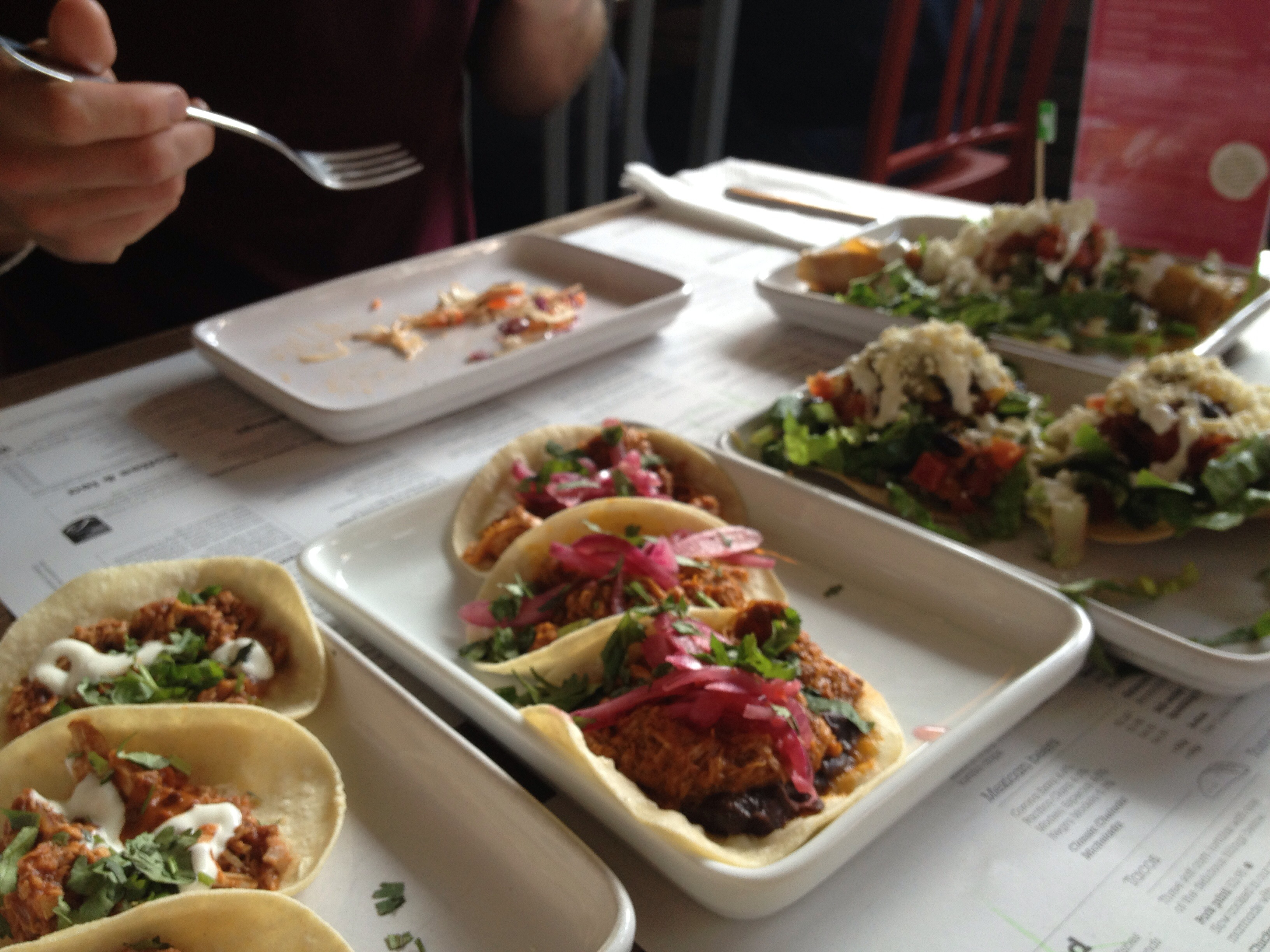 Wahaca Street Food Selection