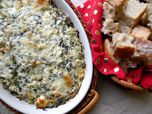 Mrs. Fields Secrets Spinach Artichoke Dip