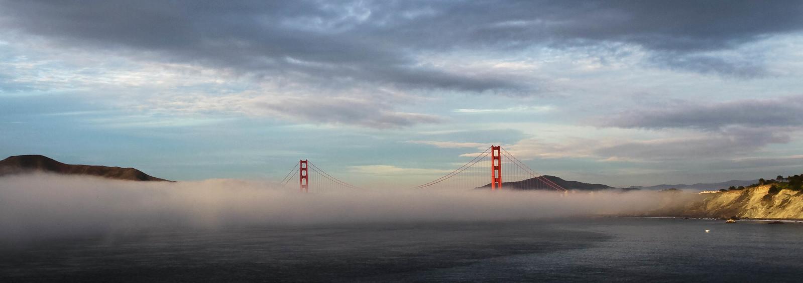 Evening Fog Coming In (Explore 6 June 2013)