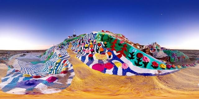 Salvation Mountain #7 (Yellow Brick Road) - Niland, California