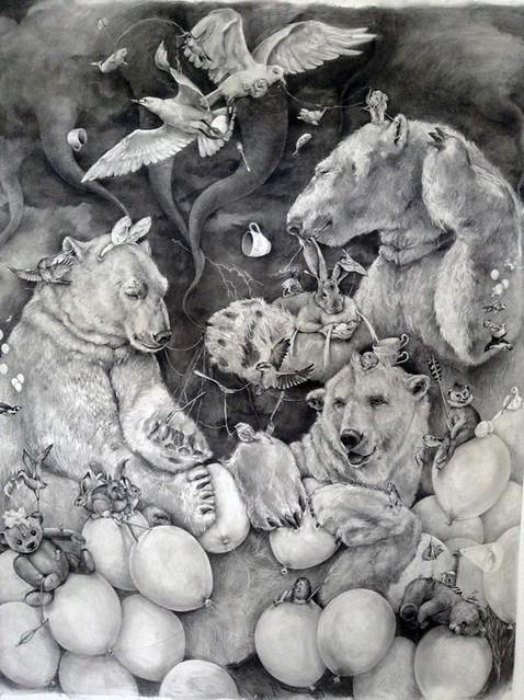 Adonna Khare, Polar Bears, 2013