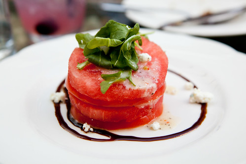Tomato & watermelon salad