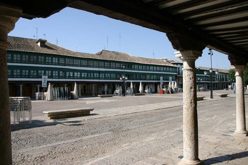 Detalle de la Plaza Mayor de Almagro. Autor, Elarequi61