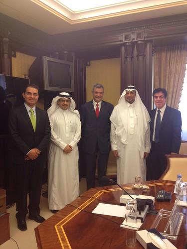 Reunión con el Presidente del Comité de Amistad Arabia Saudita-México.