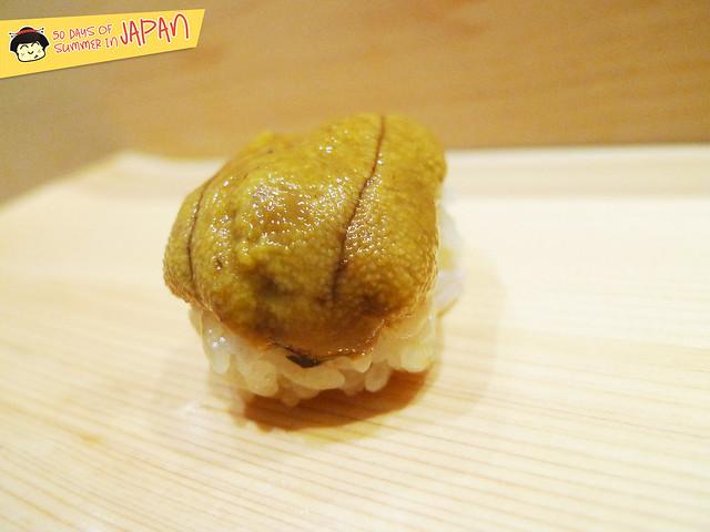 Sushi Bar YASUDA in Tokyo - Northern Region Uni