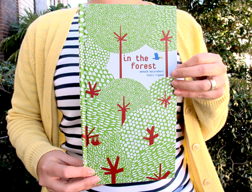 In the forest - A pop-up book (cover)