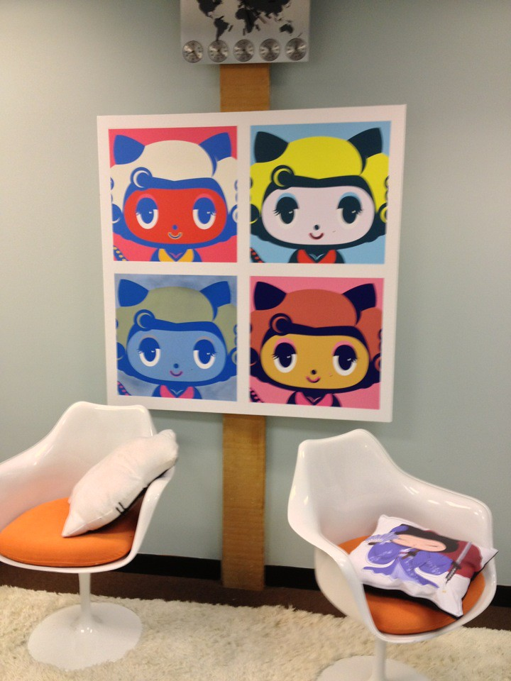 Hanging with the github octocat at Bay  NET MSFT Build #me