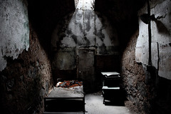 Creepy Cell at Eastern State Penitentiary