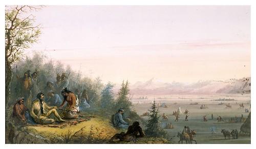 017-La pipa de la paz-Alfred Jacob Miller-1858-1860-Walters Art Museum