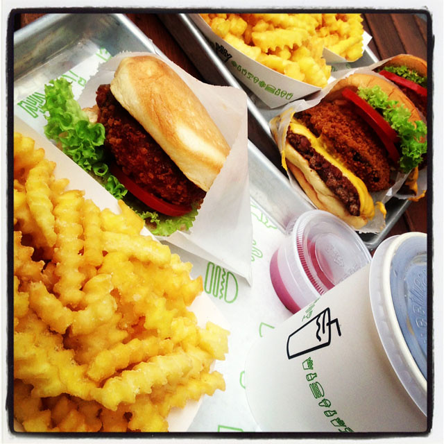 Shake Shack Covent Garden Pre-Opening Event