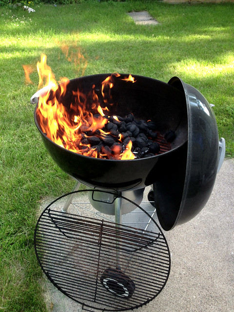 first time with the grill this summer! #project365