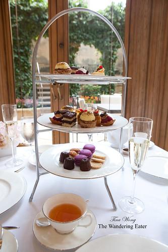 Dessert tiers for tea