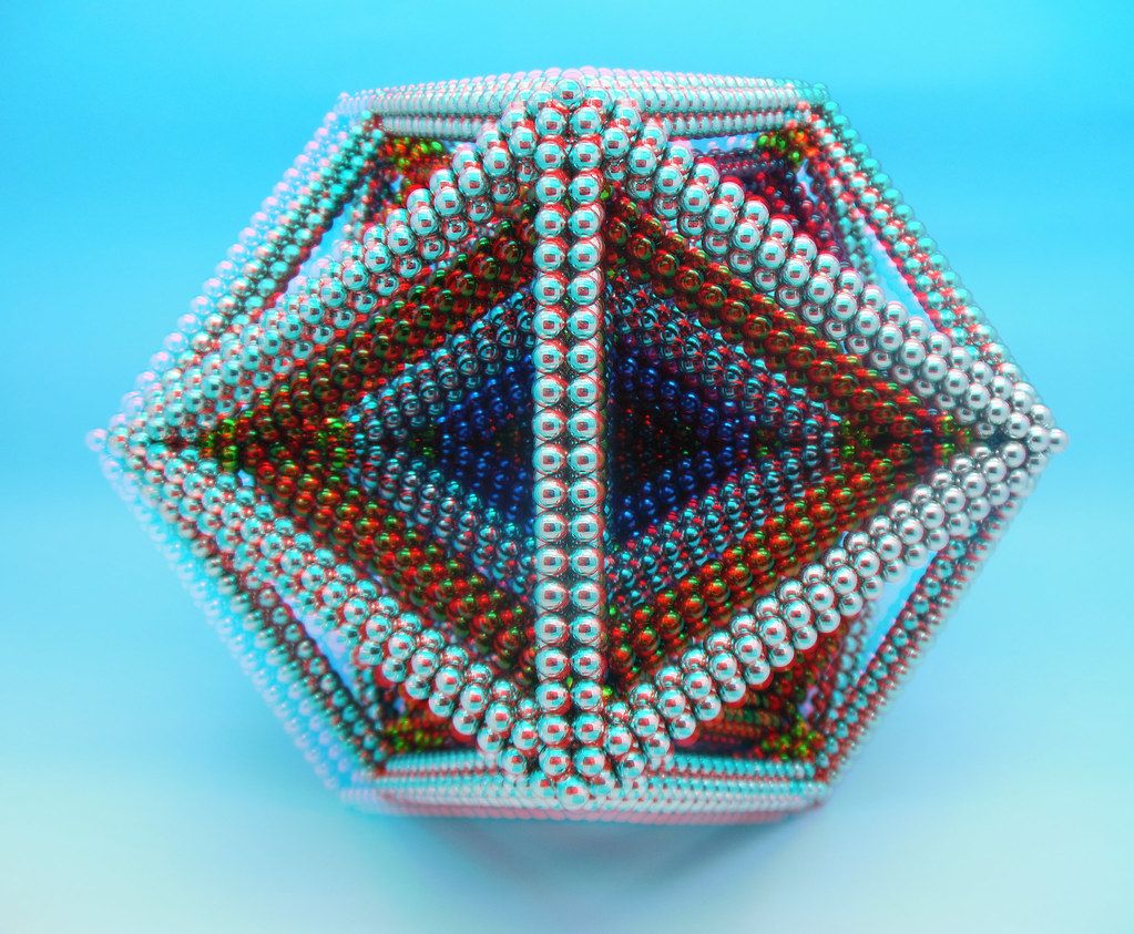 Colorful-3D-Multi-Layered Dodecahedron