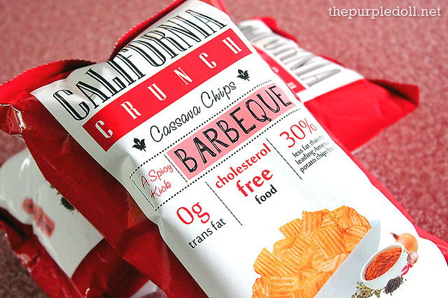California Crunch Cassava Chips Barbeque Flavor