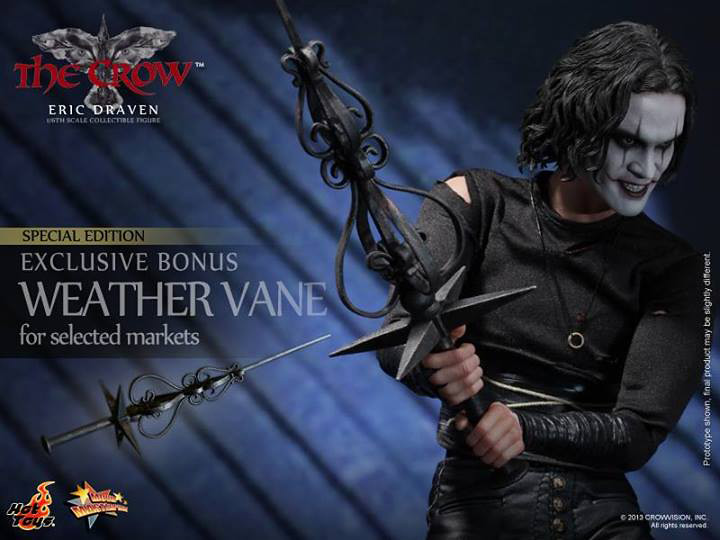 Hot Toys Does  U0026quot The Crow U0026quot  In 1  6th