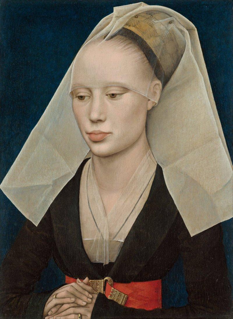 بورتـريه سيّـدة للرسّام الهولندي روهيـير فـان ديـر وايـدن، 1460
