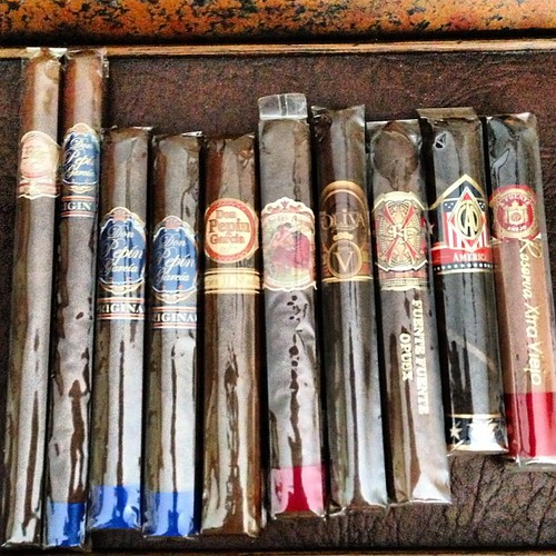Beat down from a Cat on the forum #cigarporn #cigars #cigar #botl