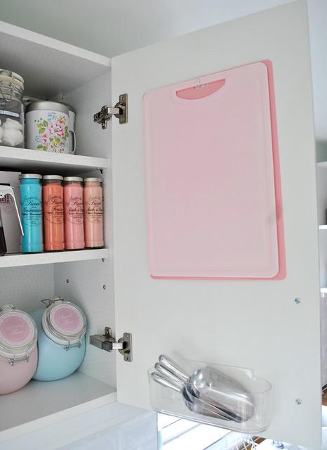 Inside my baking cupboard door