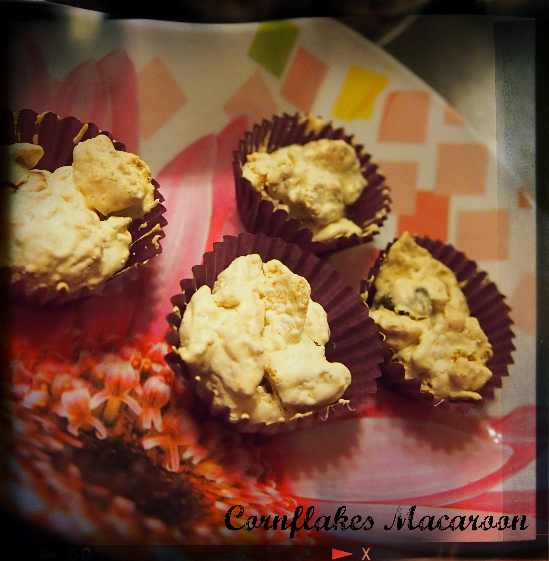 cornflakes macaroon