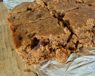 Cinnamon Raisin Blondies