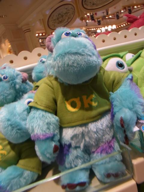 迪士尼樂園怪獸大學開學禮