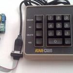 Atari Keypad to USB