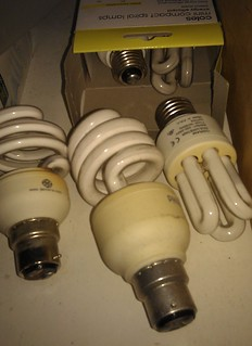 Stash of dead CFLs
