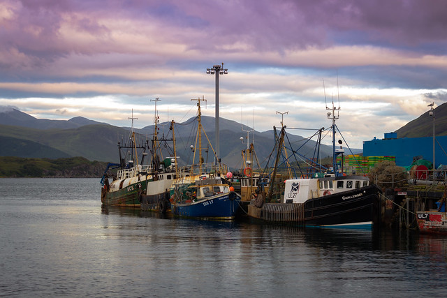 Ullapool Harbor - Scottish Highlands