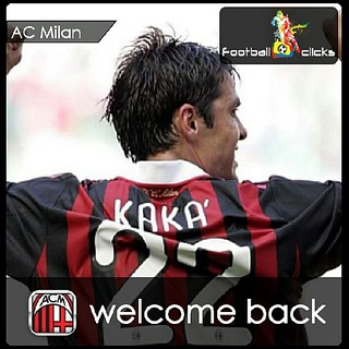 Kaka returning to millan