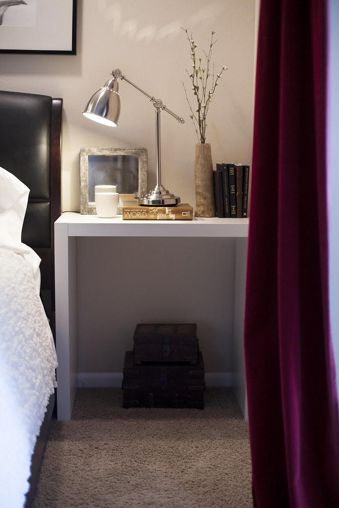 ikea hack bedroom nightstand