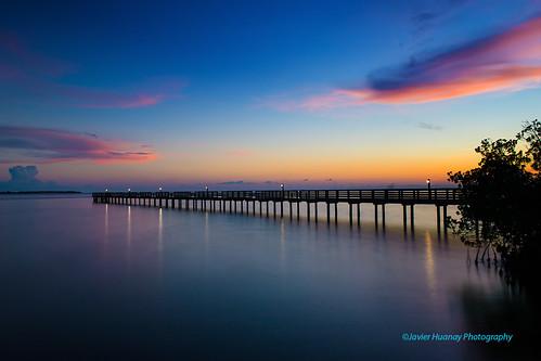 light nature clouds river landscape pier twilight nikon florida d800