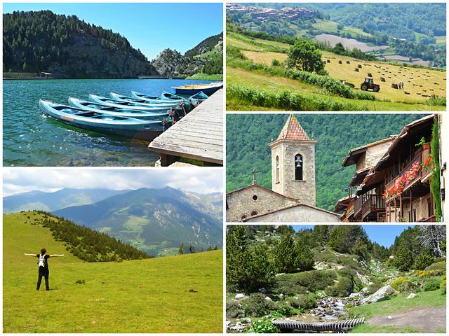 Pyrenees Hiking Montage
