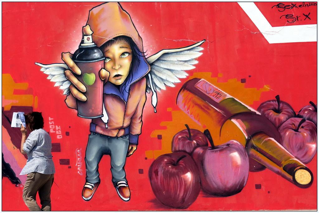 aerosol, pintada o grafiti