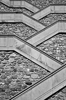 Stairs of Castle (Bratislava / Slovakia)