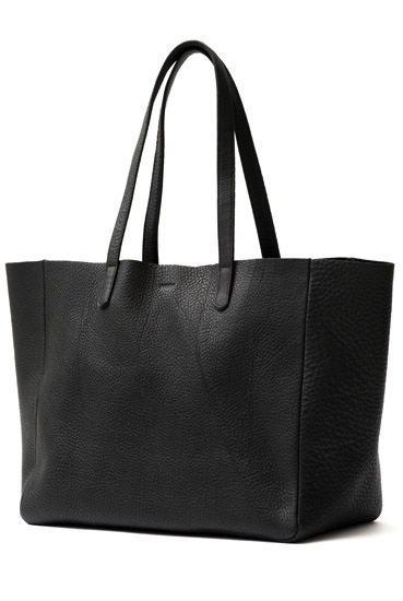 Oversize Leather Tote