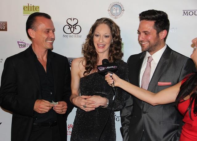 Robert Knepper, Shevaun Kastl, Brandon Barash, The Mourning Hour Premiere, Grauman's Egyptian Theatre, Hollywood