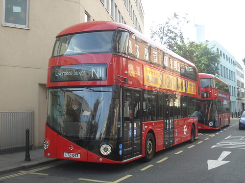 London General LT43 on Route 11 (Blinded for N11), Fulham