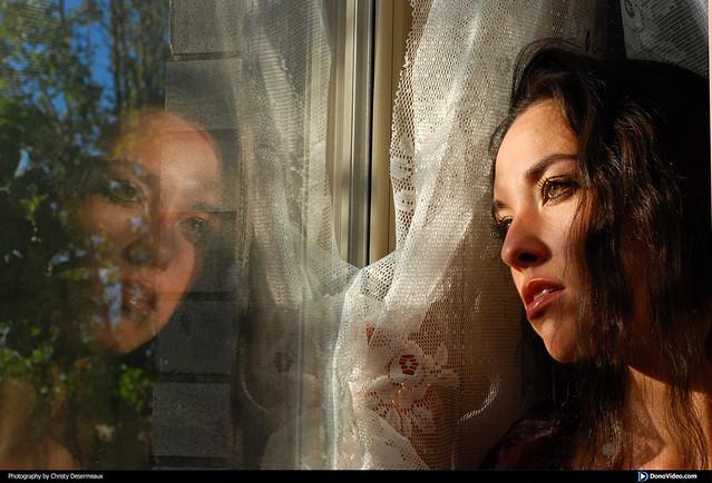Megan at the Window