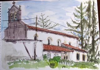 Iglesia de Sta María de Arroes. (Asturias)